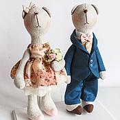 Куклы Тильда ручной работы. Ярмарка Мастеров - ручная работа Romantic Bears. Handmade.