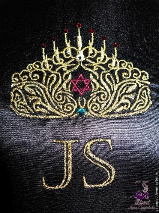 Пояса, ремни ручной работы. Ярмарка Мастеров - ручная работа. Купить Вышивка логотипа на заказ на сувенирных поясах для конкурса красоты. Handmade.