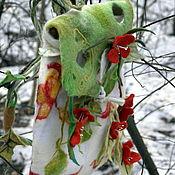 Сумки и аксессуары handmade. Livemaster - original item Backpack felted