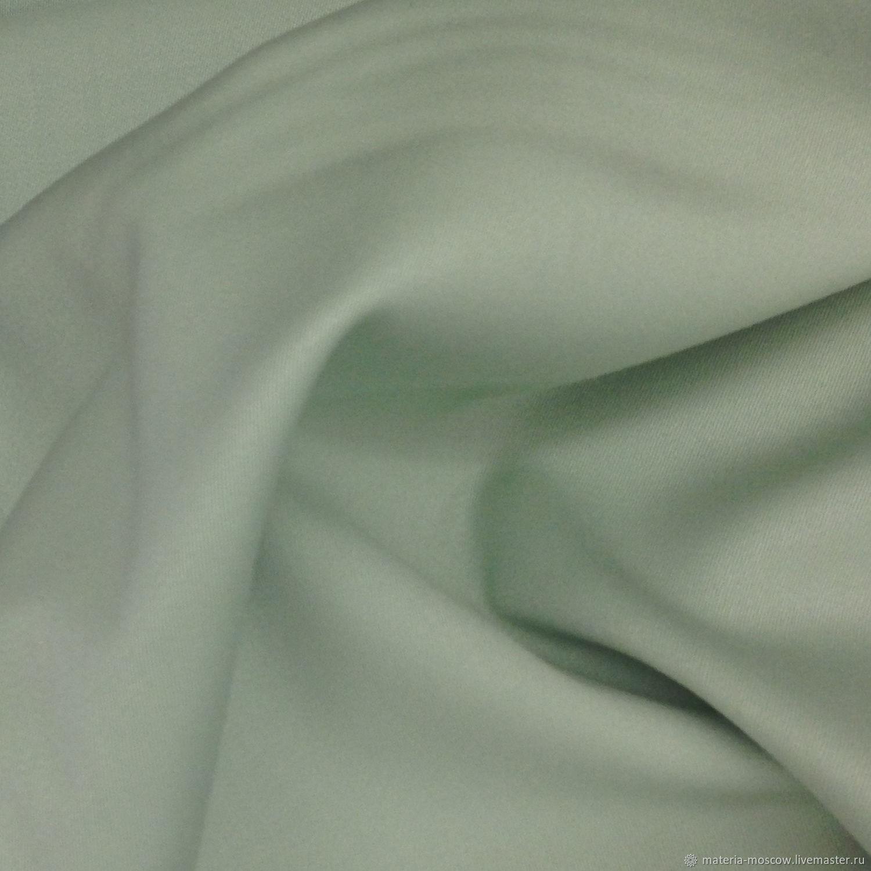 Шерсть стретч Лейтмотив цвета мяты зеленый Италия Артикул: L125090001