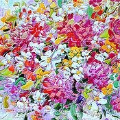 Картины и панно handmade. Livemaster - original item Picture of a bouquet of flowers