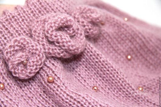 Юбки ручной работы. Ярмарка Мастеров - ручная работа. Купить Юбочка вязанная для девочки. Handmade. Розовый, юбочка, нарядная юбочка