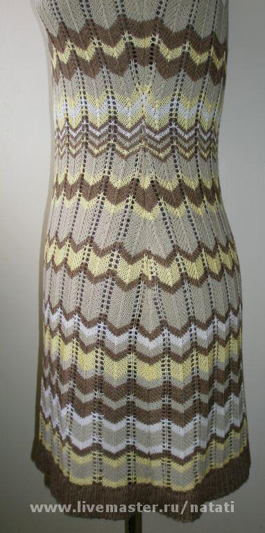 Юбка крючком зигзаг схема фото 856