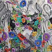 """Ткани ручной работы. Ярмарка Мастеров - ручная работа Хлопок с эластаном """"ETRO"""". Handmade."""