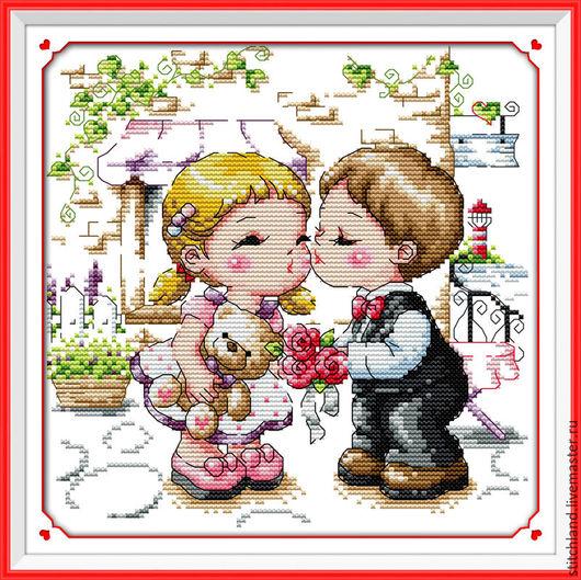 Набор для вышивания `Жених и невеста`