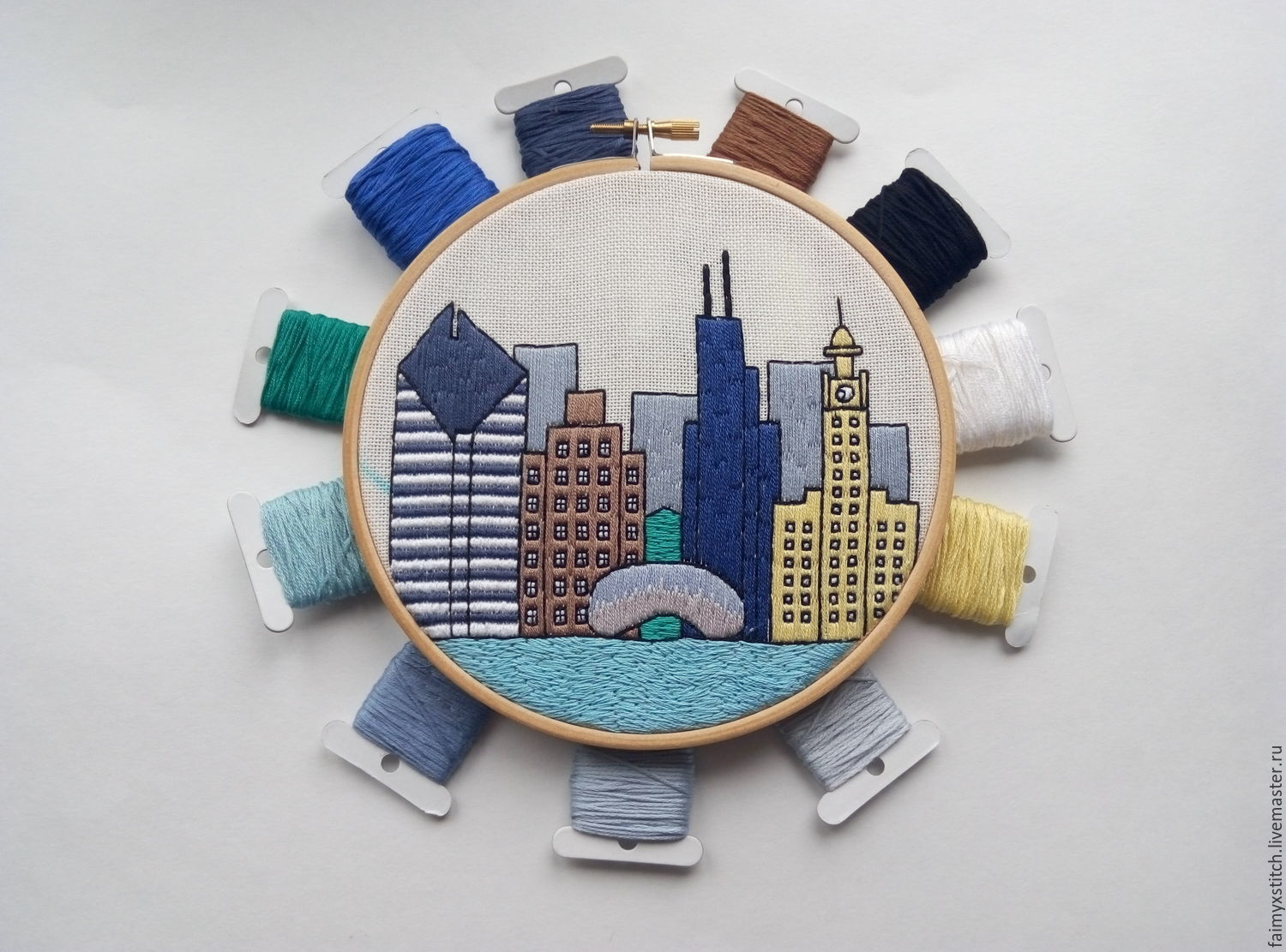 The Scheme For Embroidery Stitch Chicago Shop Online On
