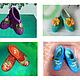 """Обувь ручной работы. Ярмарка Мастеров - ручная работа. Купить Тапочки валяные """"Ландыши"""". Handmade. Тапочки домашние, подарок женщине"""