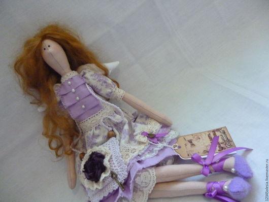 Куклы Тильды ручной работы. Ярмарка Мастеров - ручная работа. Купить Ангел тильда Инесса. Handmade. Комбинированный, хлопок 100%