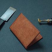 Сумки и аксессуары handmade. Livemaster - original item Small wallet / cardholders of genuine leather / Bifold. Handmade.
