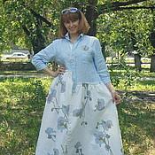"""Одежда ручной работы. Ярмарка Мастеров - ручная работа Бохо-платье""""Чарующая орхидея"""".... Handmade."""