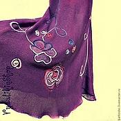 """Одежда ручной работы. Ярмарка Мастеров - ручная работа Вязаная юбка """"Цветочная абстракция"""". Handmade."""