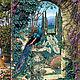 Декупаж и роспись ручной работы. Ярмарка Мастеров - ручная работа. Купить Павлины в саду (D100275) - рисовая бумага, А4. Handmade.