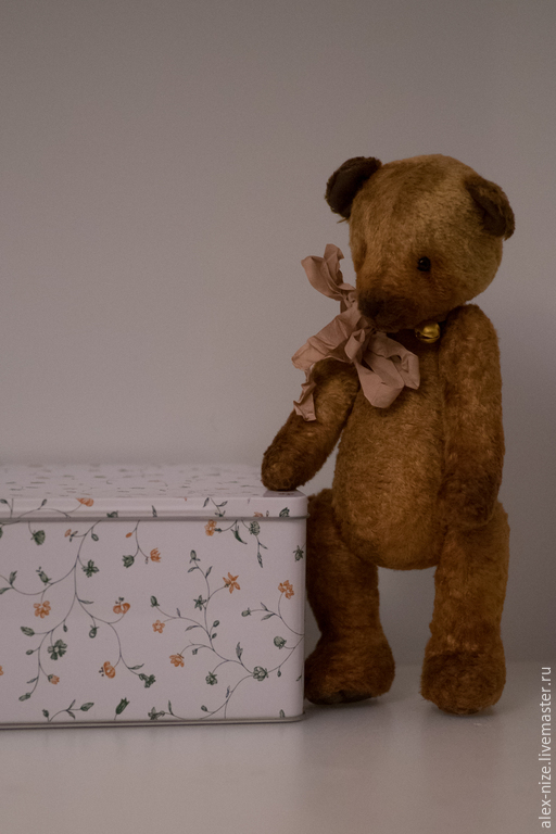 Мишки Тедди ручной работы. Ярмарка Мастеров - ручная работа. Купить Мишка Бубенчик. Handmade. Коричневый, бубенчик, синтепон