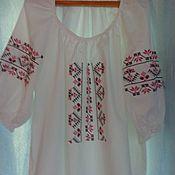 Русский стиль handmade. Livemaster - original item Women`s embroidered shirt ornament. Handmade.