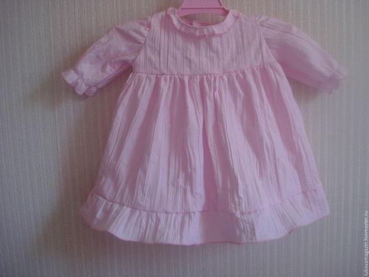 """Одежда для девочек, ручной работы. Ярмарка Мастеров - ручная работа. Купить Платье для малышки"""" Маленькая леди"""". Handmade. Бледно-розовый"""
