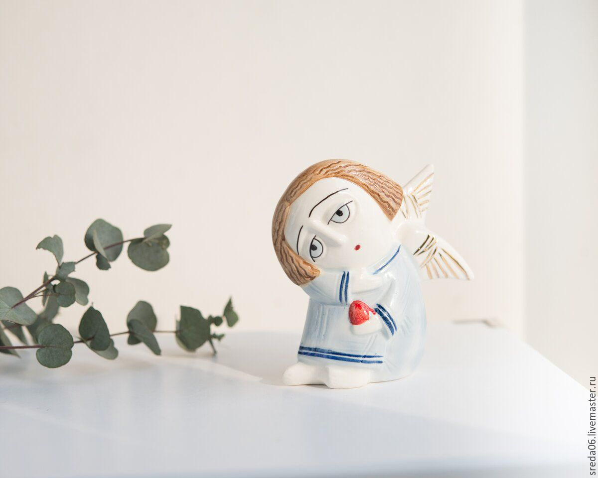 Buy porcelain angel with an easter egg easter gift on livemaster easter gifts handmade livemaster handmade buy porcelain angel with an easter egg negle Gallery