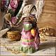 Народные куклы ручной работы. Святозарница. Ольга Миронова. Ярмарка Мастеров. Народная кукла, традиционная кукла, хлопок