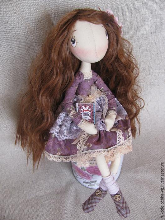 Коллекционные куклы ручной работы. Ярмарка Мастеров - ручная работа. Купить Швейка Анабель. Handmade. Сиреневый, подарок на любой случай