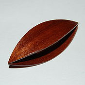 Материалы для творчества handmade. Livemaster - original item Large Wooden Tatting Shuttle Hand Made in Mahogany Wood. Handmade.