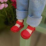 Материалы для творчества handmade. Livemaster - original item Blythe shoes. Handmade.