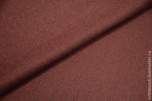 Шитье ручной работы. Ярмарка Мастеров - ручная работа. Купить Пальтовая ткань 08-003-1953. Handmade. Коричневый, кашемир