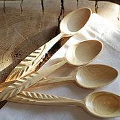 Для дома и интерьера ручной работы. Ярмарка Мастеров - ручная работа Ложки из можжевельника. Handmade.