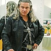 Одежда ручной работы. Ярмарка Мастеров - ручная работа Cortez. Куртка из кожи крокодила. Handmade.