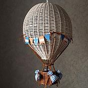 Для дома и интерьера handmade. Livemaster - original item Braided night light Balloon. Handmade.