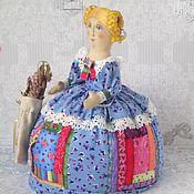 """Для дома и интерьера ручной работы. Ярмарка Мастеров - ручная работа Грелка на чайник """"Чай с мятой"""". Handmade."""