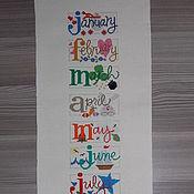 """Картины и панно ручной работы. Ярмарка Мастеров - ручная работа Распродажа """"Календарь"""". Handmade."""