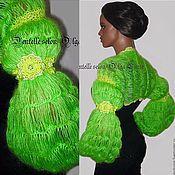 Одежда handmade. Livemaster - original item Knitted Bolero from Olga Lace. Handmade.