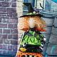 """Куклы Тильды ручной работы. Ярмарка Мастеров - ручная работа. Купить Колдунья """"Шелли"""". Handmade. Принцесса, волшебство, ведьма, осень"""