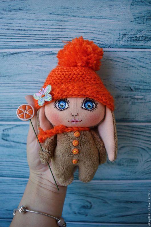 Коллекционные куклы ручной работы. Ярмарка Мастеров - ручная работа. Купить Апельсинка Полли. Handmade. Рыжий, апельсиновый, девочка
