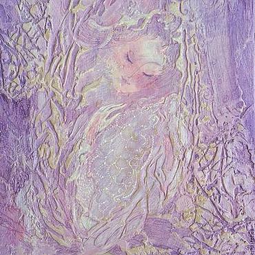 """Картины и панно ручной работы. Ярмарка Мастеров - ручная работа """"Невеста"""" авторская картина.. Handmade."""