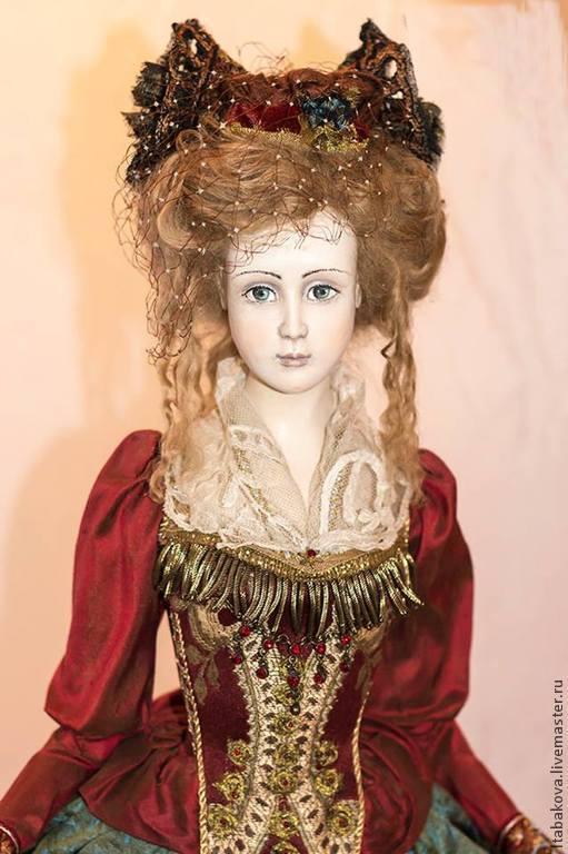Коллекционные куклы ручной работы. Ярмарка Мастеров - ручная работа. Купить Нина. Handmade. Коллекционная кукла, кукла интерьерная