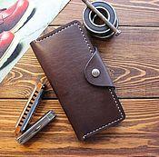 Сумки и аксессуары handmade. Livemaster - original item Purse, wallet, leather wallet, travel wallet, leather purse, handmade. Handmade.