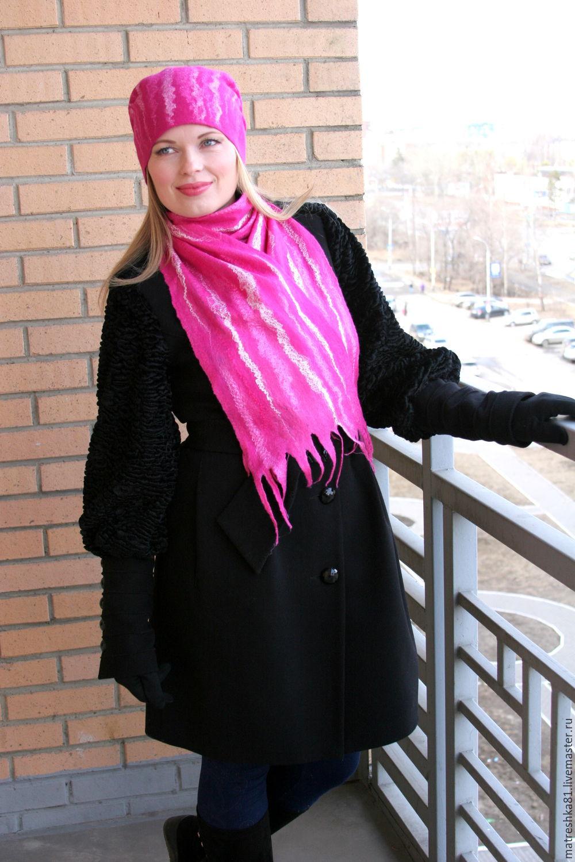 The hat felted.women's, Caps, Khabarovsk,  Фото №1