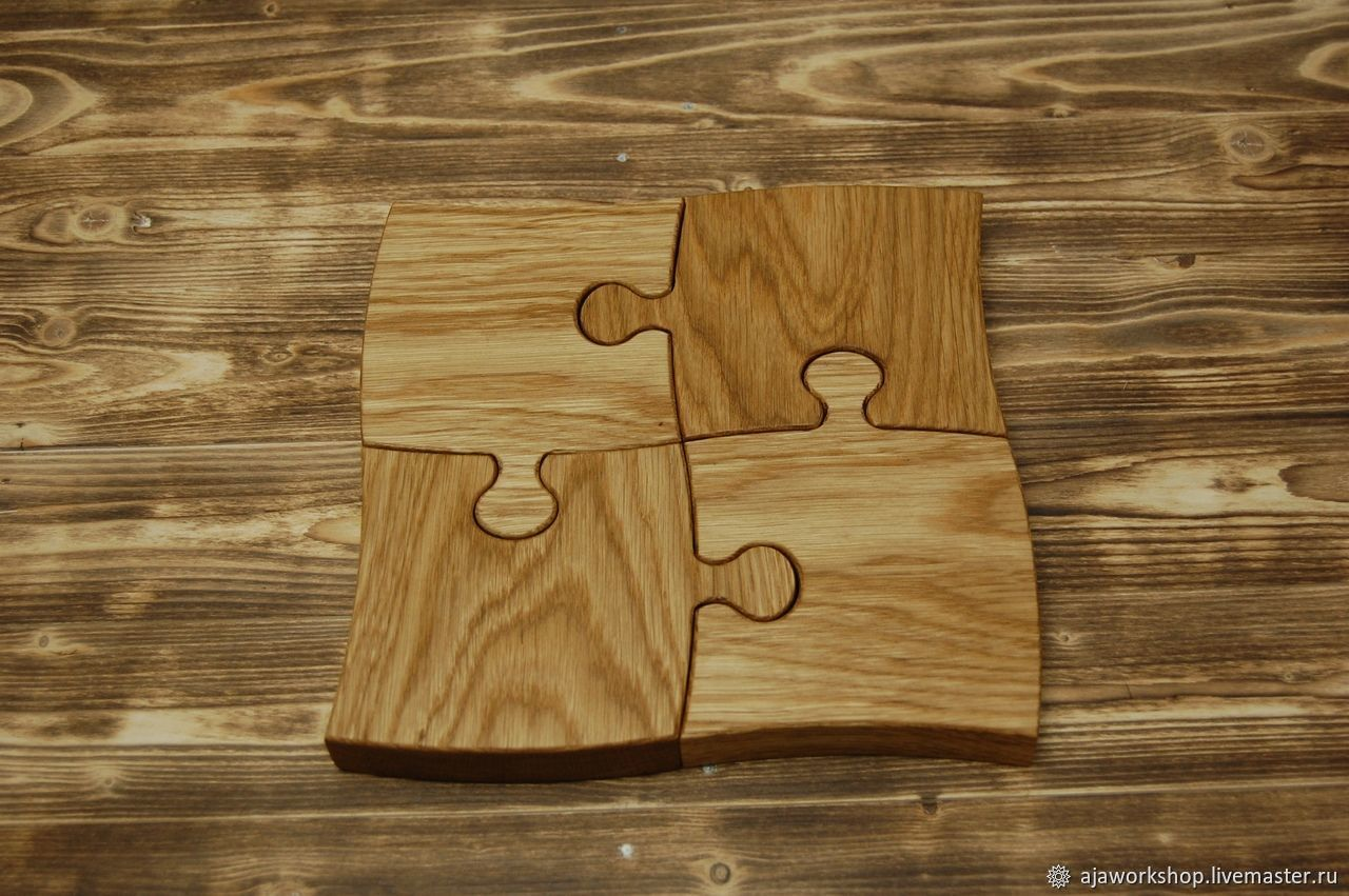 Serving board Puzzle, Cutting Boards, Moscow,  Фото №1