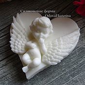 Материалы для творчества ручной работы. Ярмарка Мастеров - ручная работа Эксклюзивная форма ангел с крыльями. Handmade.