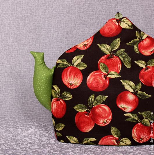 Кухня ручной работы. Ярмарка Мастеров - ручная работа. Купить Грелка для чайника ЧАЙ В САДУ. Handmade. Грелка на чайник