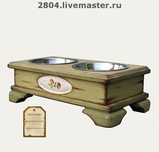 Аксессуары для собак, ручной работы. Ярмарка Мастеров - ручная работа. Купить Аксессуары для собак. (10) Подставка.. Handmade. Мебель для собак