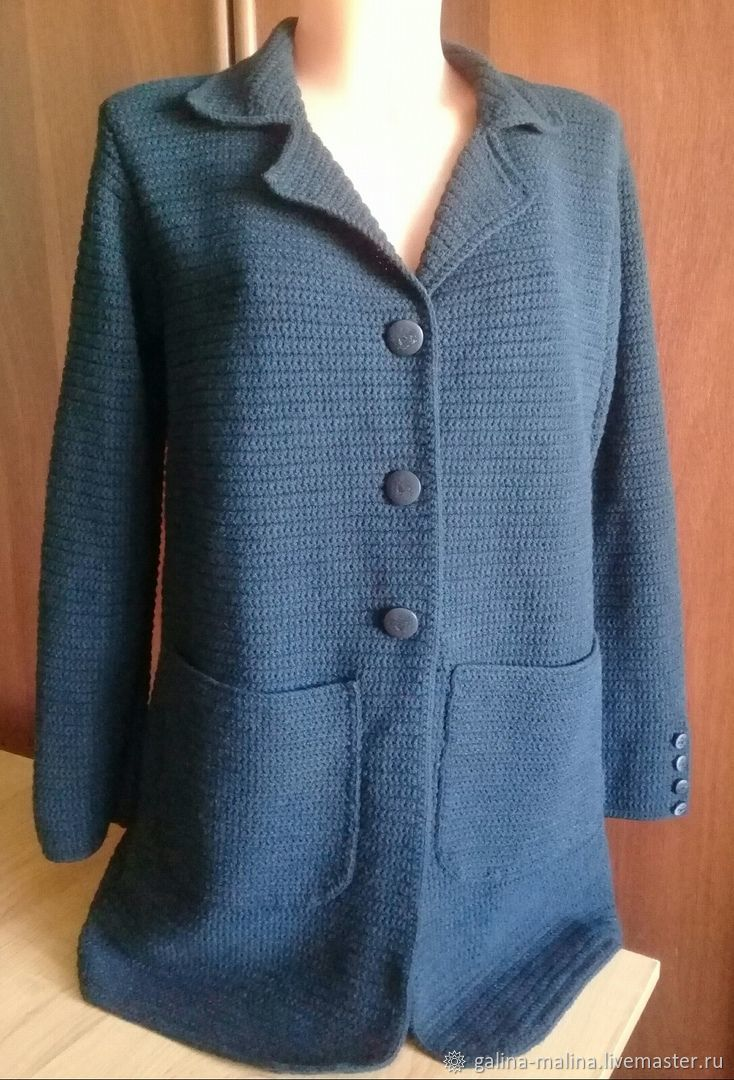 jackets: Knitted jacket with cashmere, Suit Jackets, Penza, Фото №1
