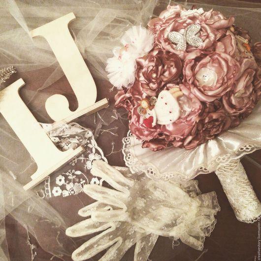 Букет невесты / готовая работа Авторский дизайн