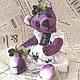 Коллекционный мишка Тедди ЕЖЕВИЧКА из коллекции ягодных медведей. Кириллова Надежда , Ярмарка Мастеров.