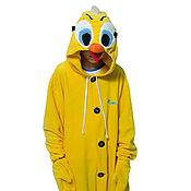 Субкультуры handmade. Livemaster - original item Costume kigurumi fleece Canary Twine. Handmade.