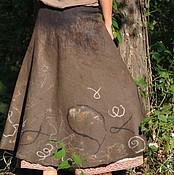 """Одежда ручной работы. Ярмарка Мастеров - ручная работа Юбка """"Древняя керамика"""". Handmade."""