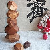 Куклы и игрушки ручной работы. Ярмарка Мастеров - ручная работа деревянные камушки Туми Иши (Гора Камней). Handmade.