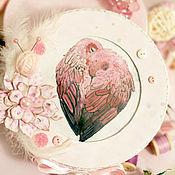 Для дома и интерьера ручной работы. Ярмарка Мастеров - ручная работа Шкатулочка с попугайчиками. Handmade.