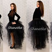 Одежда handmade. Livemaster - original item The skirt is made of tulle with a train 2. Handmade.