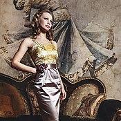 Одежда ручной работы. Ярмарка Мастеров - ручная работа Коктейльное платье  Милена. Handmade.